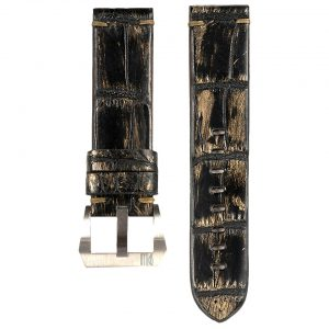 Spillo-Strap16-Alligator-Black-Gold