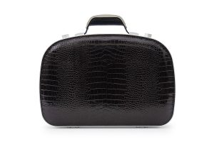 BLAUDESIGN Briefcase Crocodile Brown
