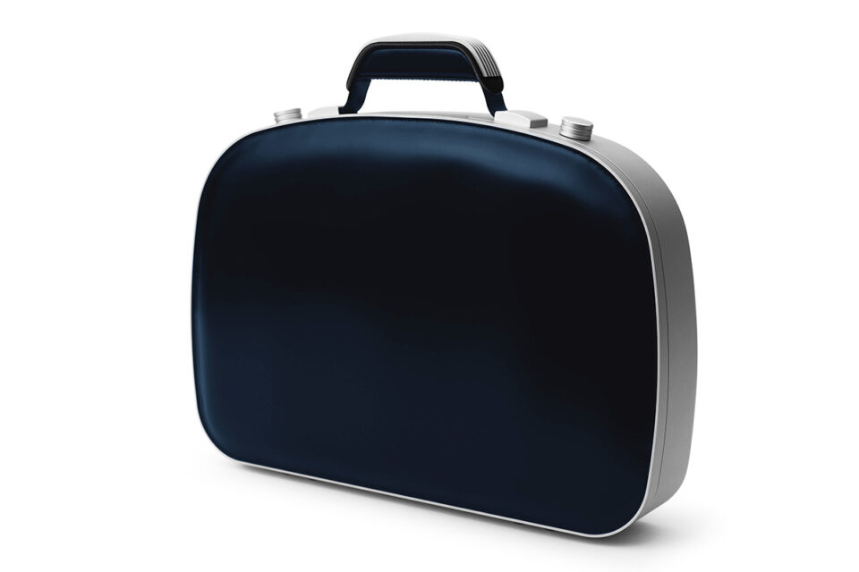 BLAUDESIGN Briefcase Navy