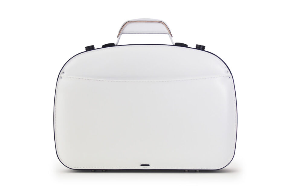 BLAUDESIGN Briefcase Piano White