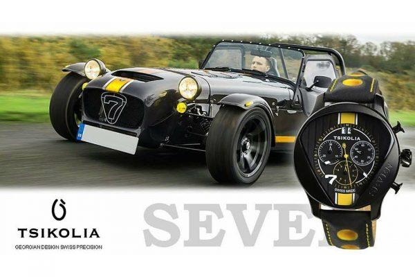 TSIKOLIA SEVEN Black PVD/Black