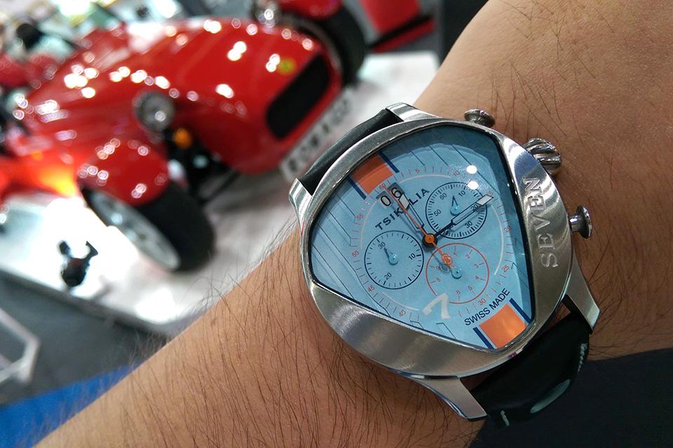 TSIKOLIA SEVEN Gulf Racing