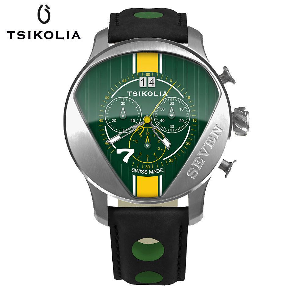 TSIKOLIA SEVEN Green / Yellow