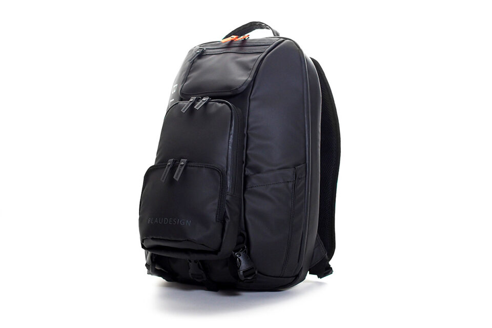 BLAUDESIGN City Tourist Black/Orange