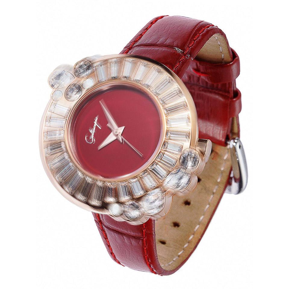 キラキラ回転する腕時計
