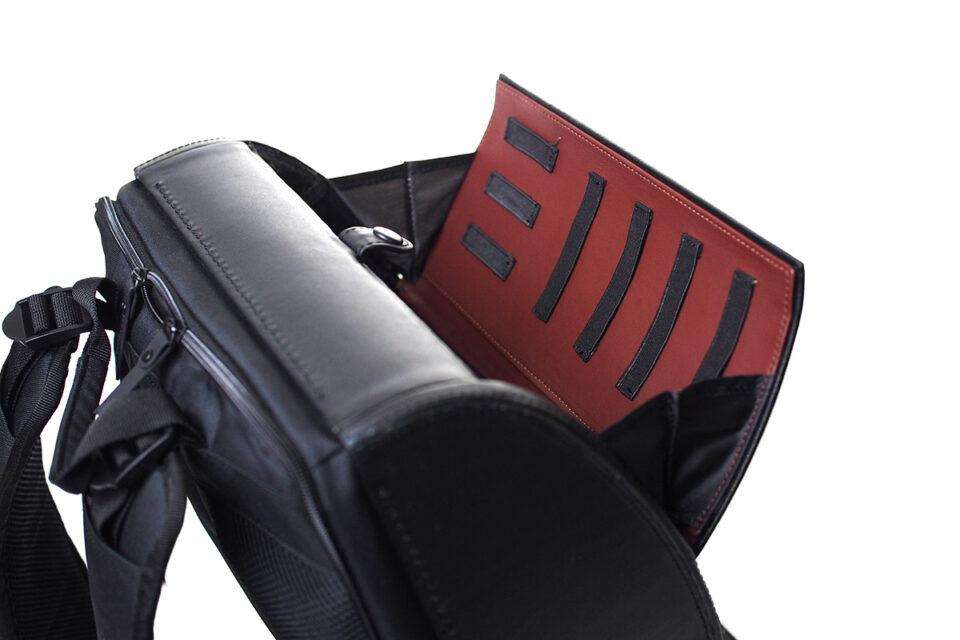BLAUDESIGN Backpack BLACK PRINT