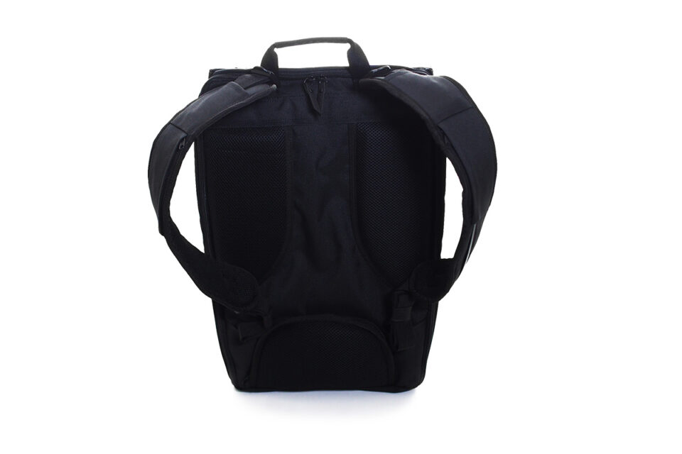 BLAUDESIGN Backpack BLACK PRINT