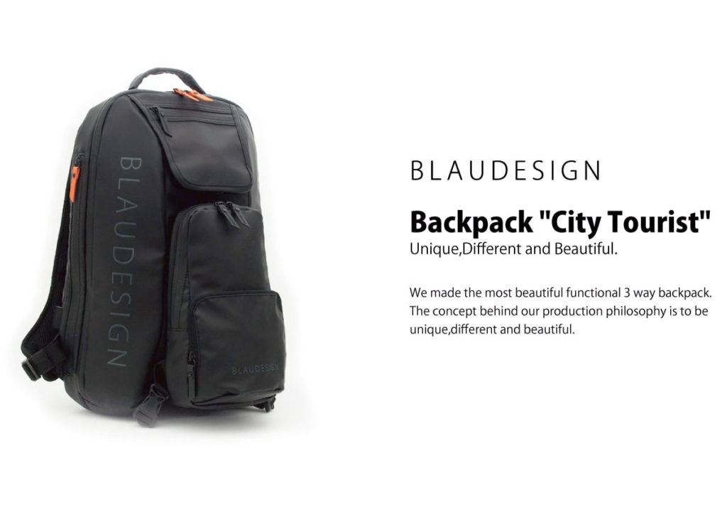 BLAUDESIGN City Tourist リュック