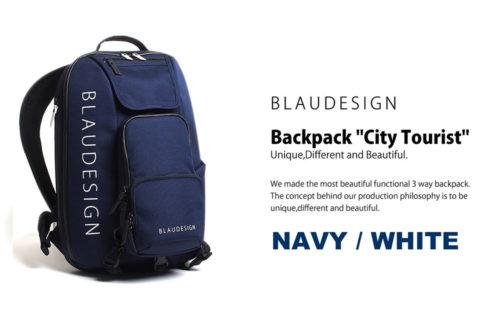 BLAUDESIGN City Tourist Navy