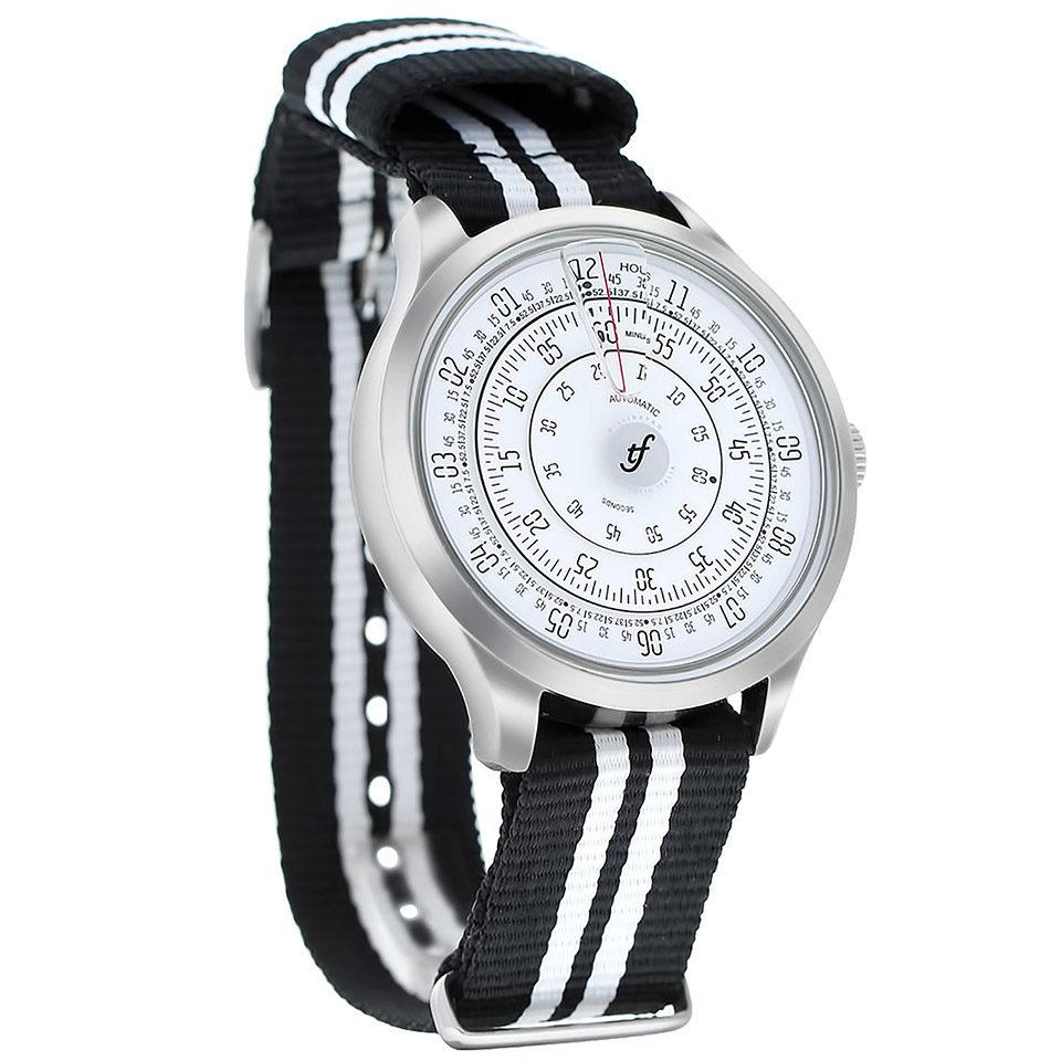 トリフォグリオ 時計 ミリメトロ NATOストラップ