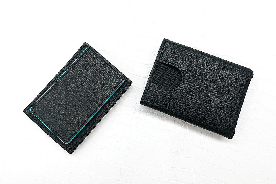 Wallet Two in One BLACK 裏