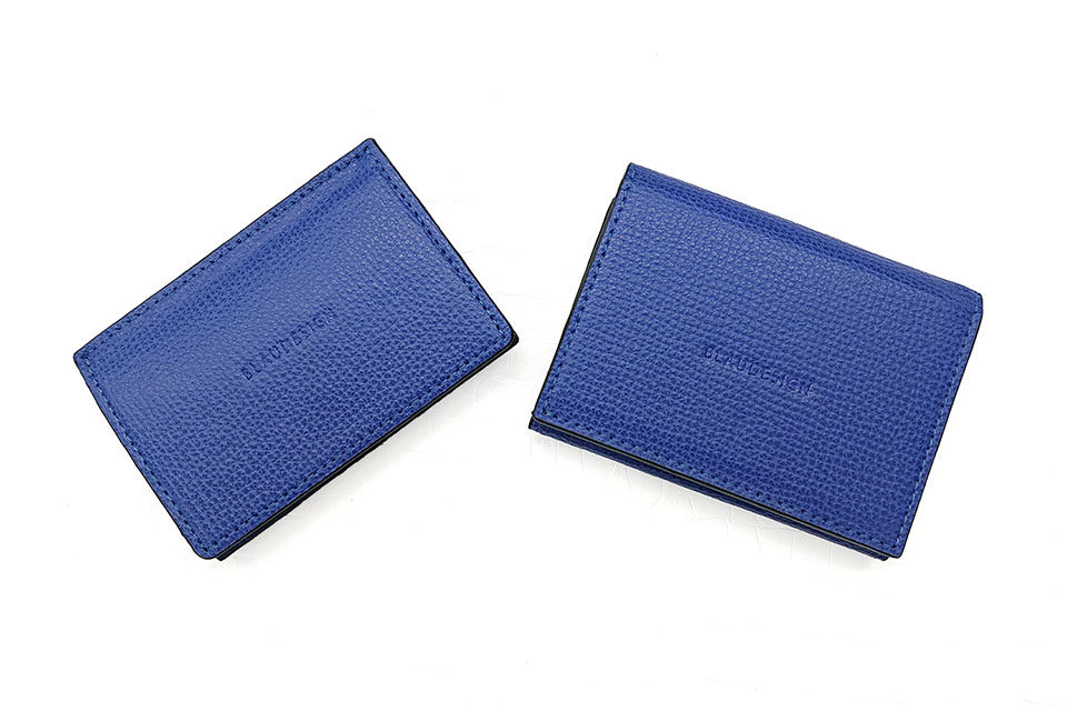 Wallet Two in One BLUE & WHITE 表