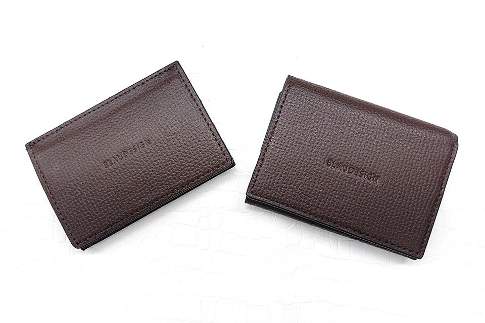 Wallet Two in One BROWN & WHITE 表