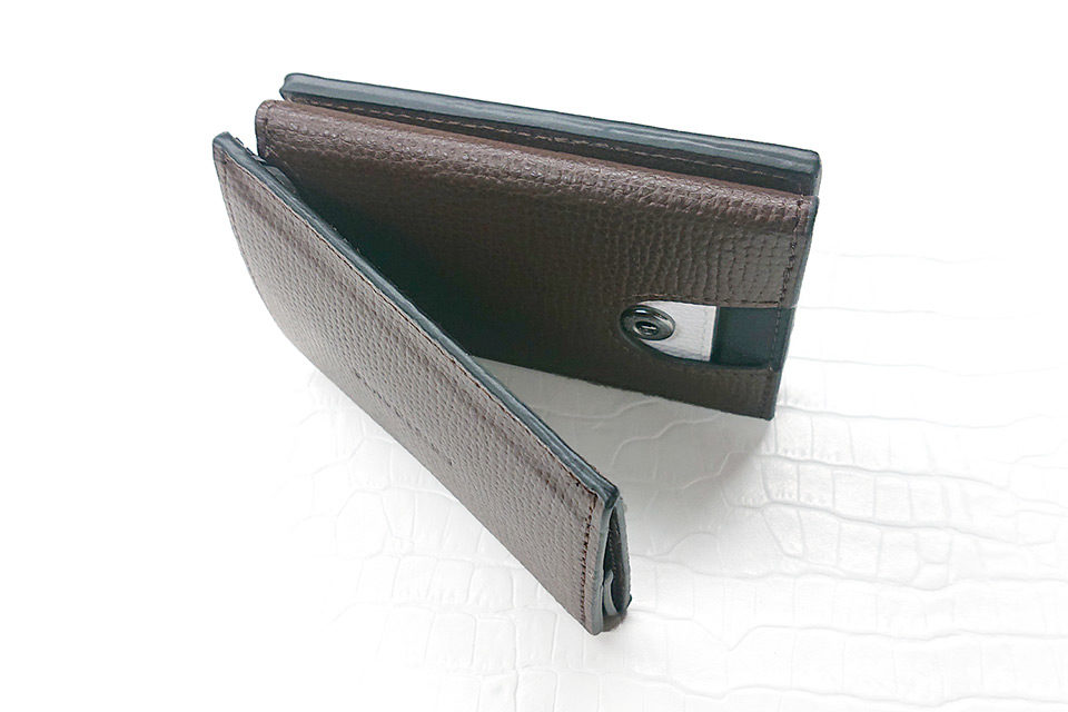 Wallet Two in One ブラウン
