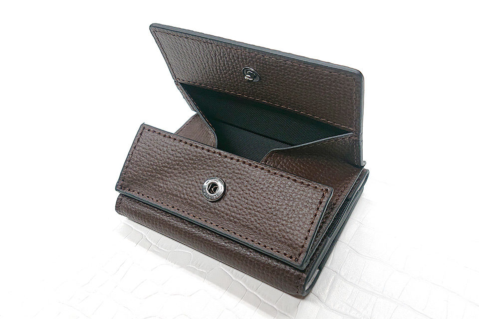 BLAUDESIGN Wallet Two in One ブラウン