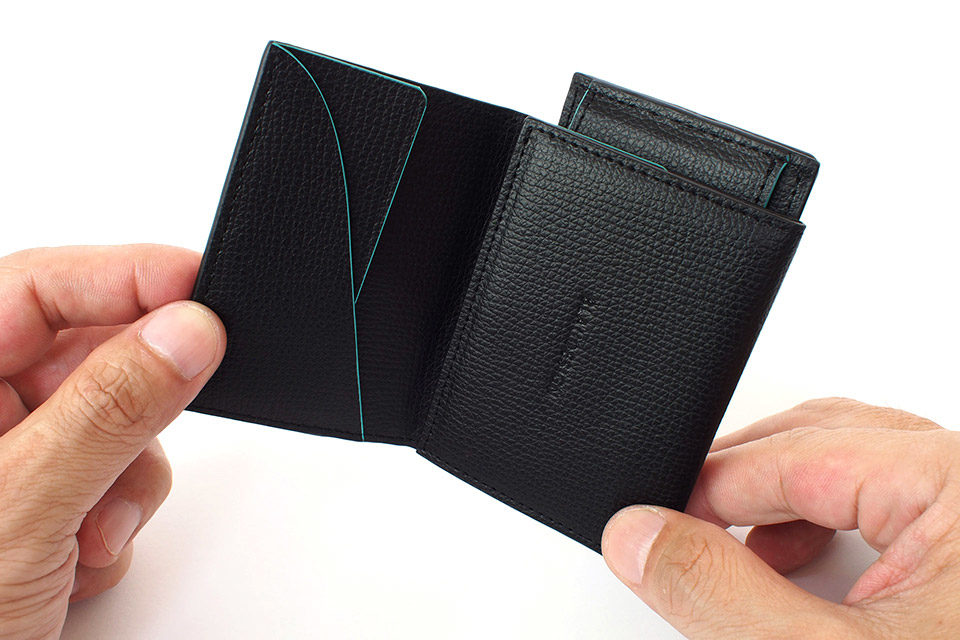 Wallet Two in One Black