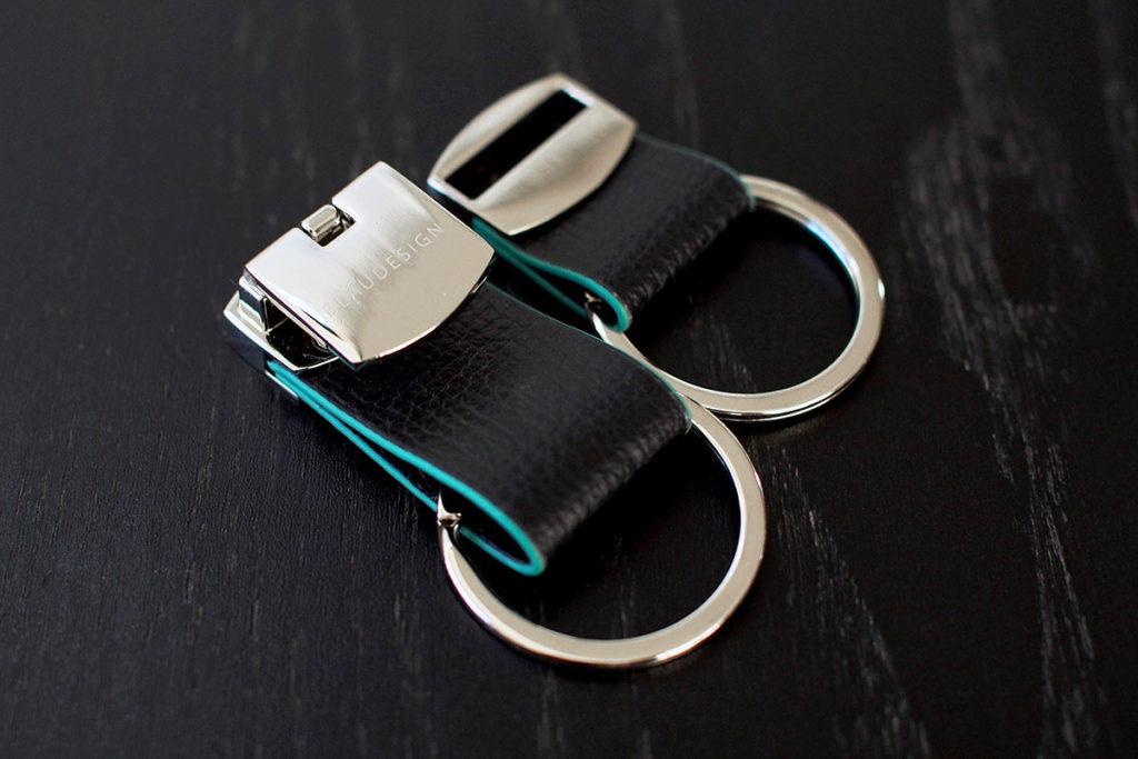 ブラウデザインのキーリング ブラック