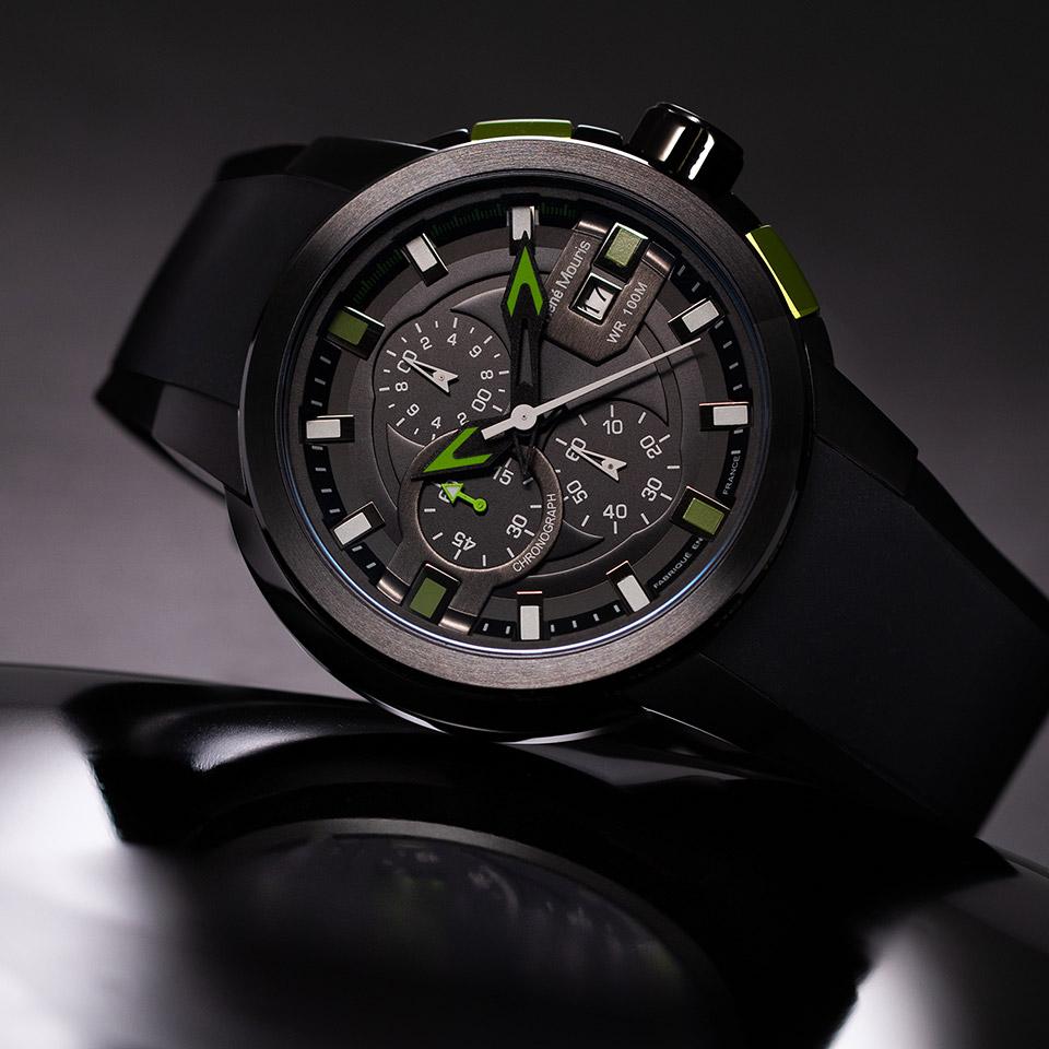 フレンチデザインのメンズ腕時計