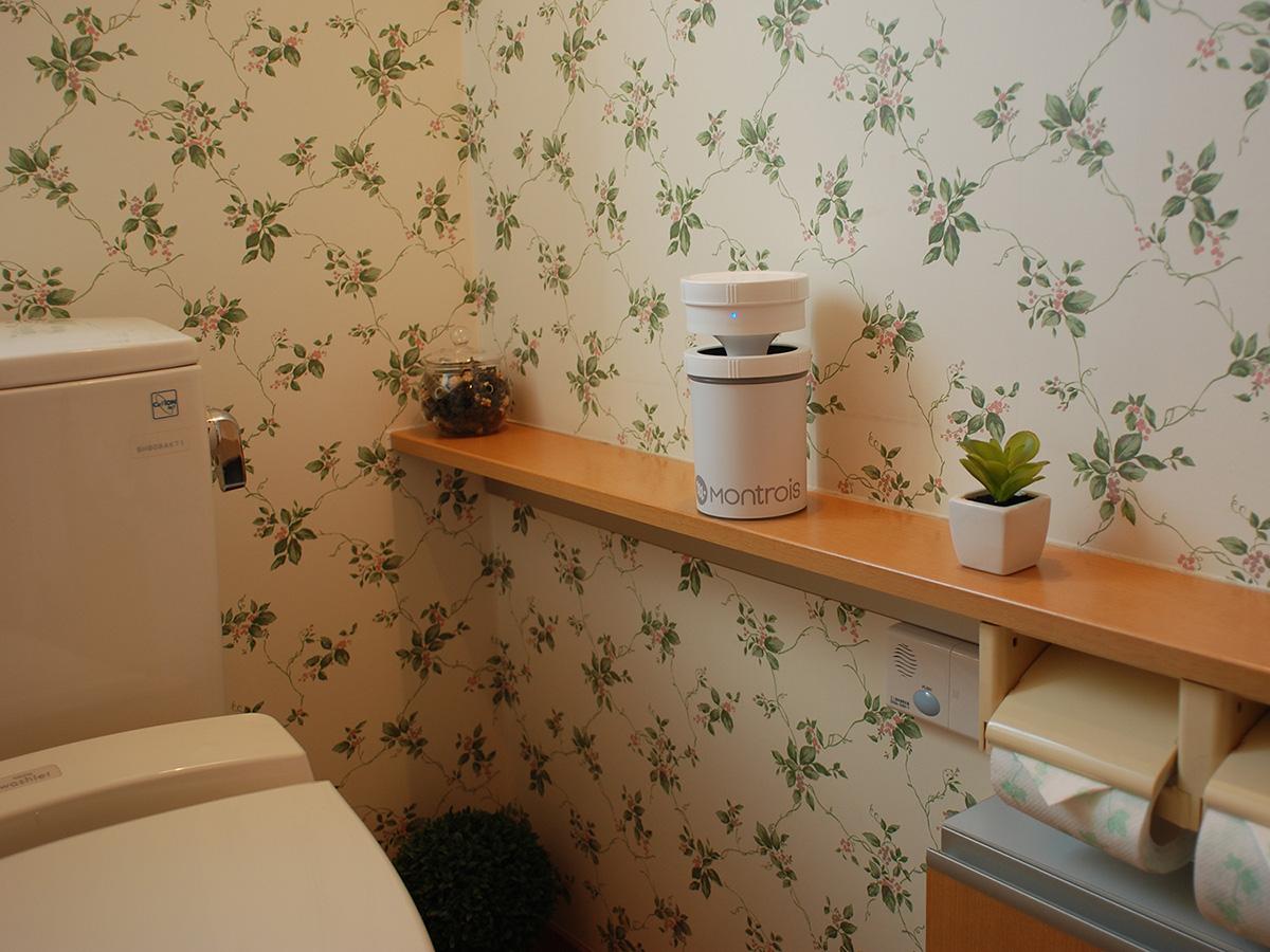 トイレの除菌消臭に最適なジアフリー