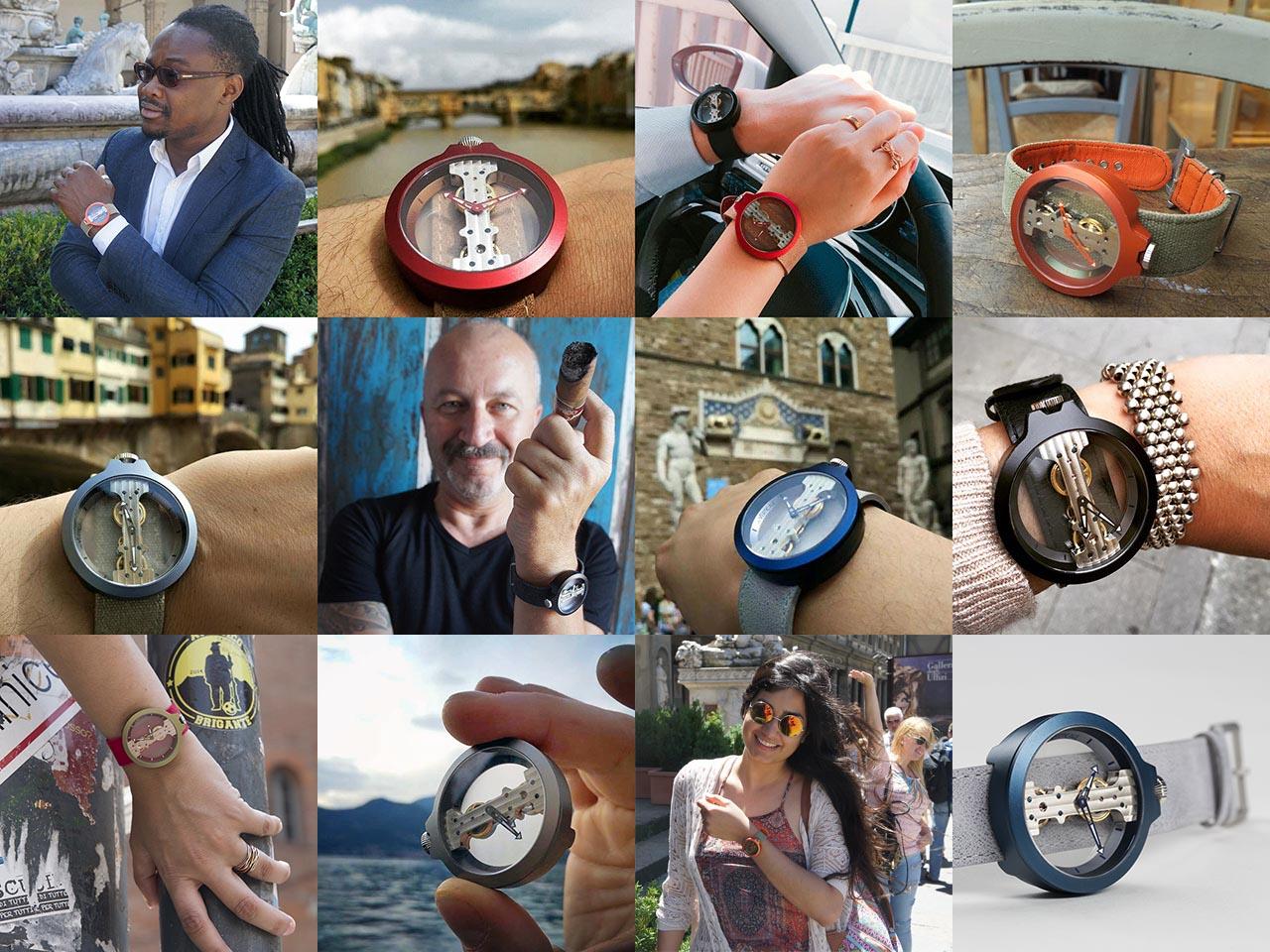 アットヴェルティカーレの腕時計