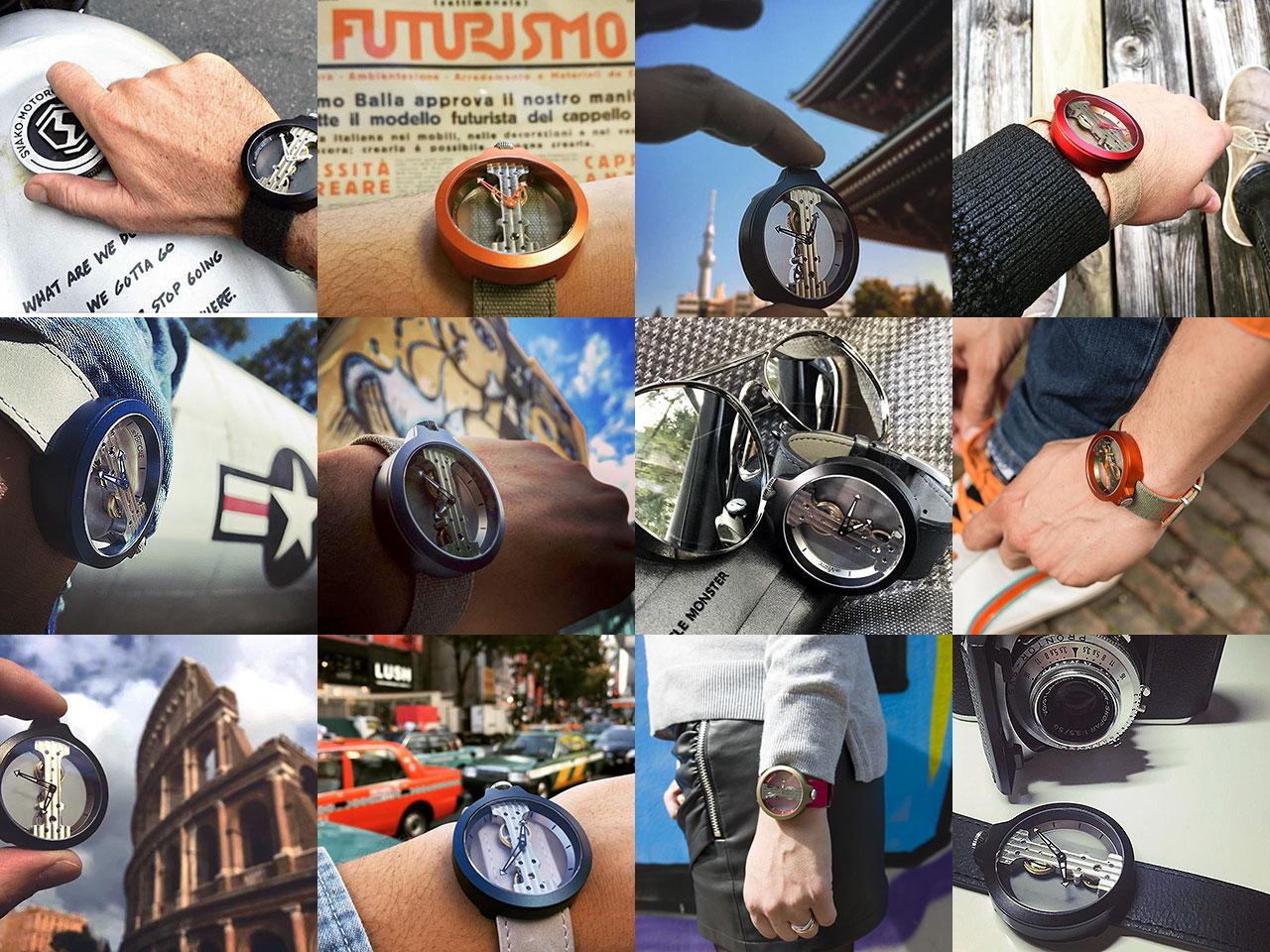 アット ヴェルティカーレの腕時計