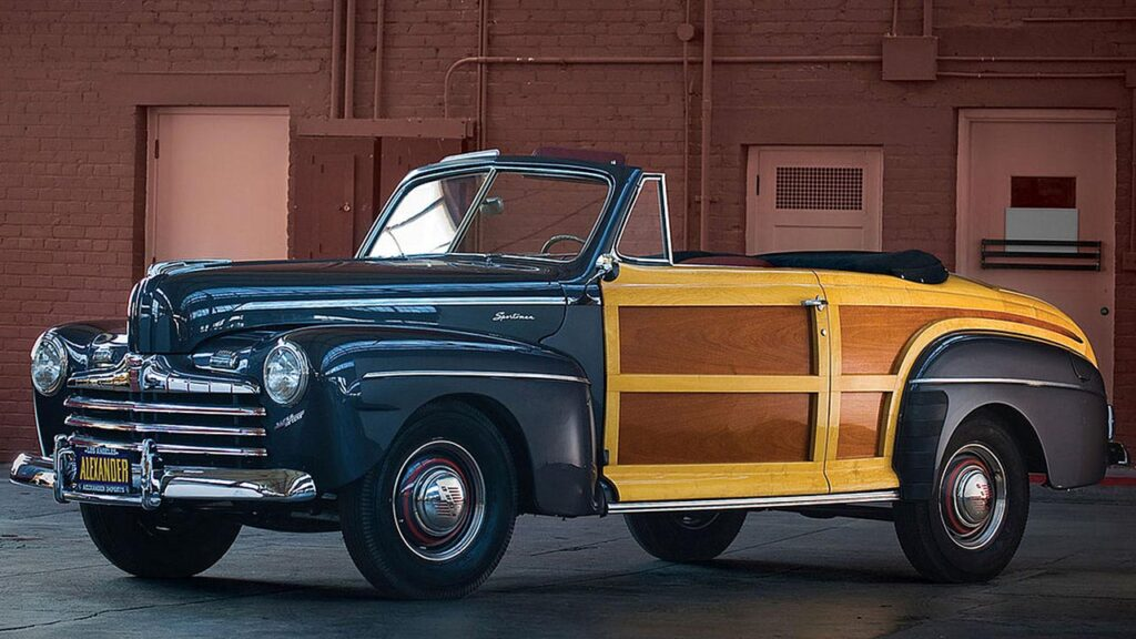 FORD Woody Convertible