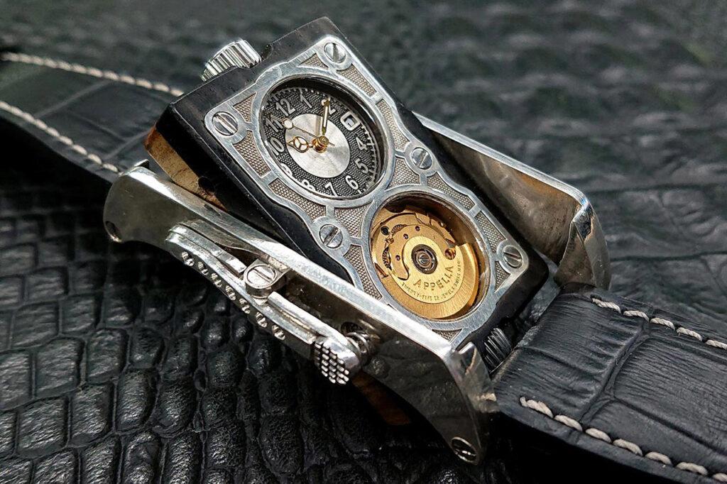 ロシア時計 SR リバーシブルウォッチ